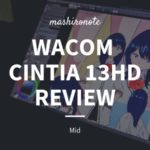 wacom Cintia 13hd review